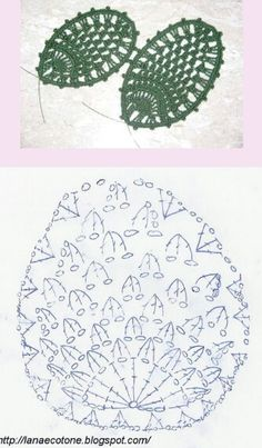 Crochet Flowers Easy Page 2 of Pretty Flower Crochet Cactus, Crochet Leaves, Crochet Flowers, Form Crochet, Crochet Diagram, Crochet Motif, Flower Chart, Easter Crochet Patterns, Bead Sewing