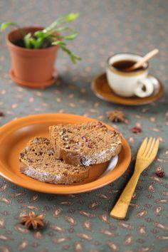 Lean Honiglebkuchen / Bolo de mel sem leite e sem ovos