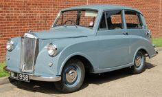 Triumph Mayflower 1949-53. Maybe the ugliest car of all time but it could reach 63mph!!