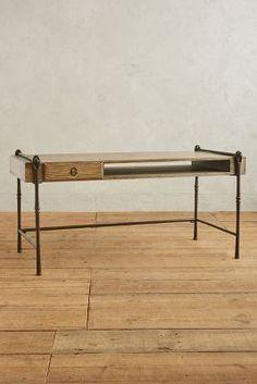 Blacksmith Desk | Anthropologie