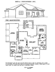 The Manchester - Residential Steel House Plans Manufactured Homes Floor Plans Prefab Metal Plans