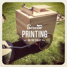 Project: Screen Printing Press