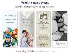 design your own canvas print