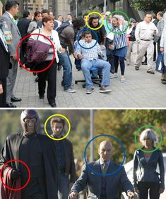 Spot The Real Life X-Men Team