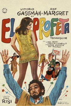 177.  JANO. El profeta. Dirigida por  Dino Risi. [1967]. #ProgramasdeMano #BbtkULL #Diseñadores #Jano #DiadelLibro2014