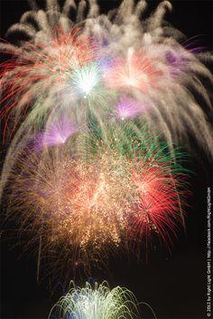 Sendai Tanabata Fireworks Festival by doris