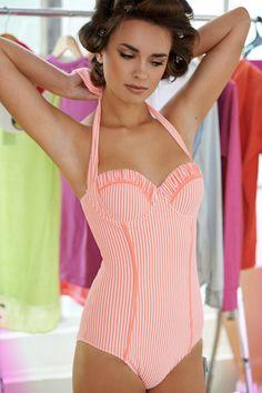 Cute one piece swim suit!