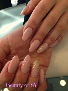 #naglar #Malmö #gellack #gelenaglar #nails #nailart #oldpink #gold