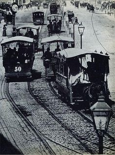 Horse-drawn tramways in Vienna, Scenery Pictures, Rare Pictures, Austro Hungarian, Hollywood, Horse Drawn, Vienna Austria, Vintage Photographs, Old Photos, Art History