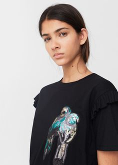 T-shirts for Woman | MANGO United Kingdom