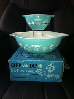 Vintage Pyrex Balloons - these babies are on their way to me as we speak!!  SOO flippin' excited!