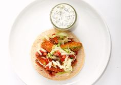 Fried Avocado Tacos    The secret to this dish is the crunchy and creamy deep-fried avocado.