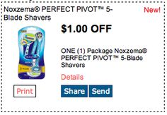 Save $1 on Shavers. Click for more great deals! #Coupons #Deals #Women #Beauty