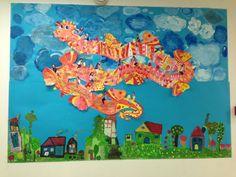 """Dieser """"Farbio"""" ist mit den Kinder bis Athen geflogen! Vielen Dank, Christine! Kunst-AG, Deutsche Schule Athen"""