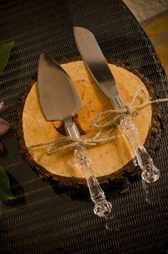Wood Cake Plate