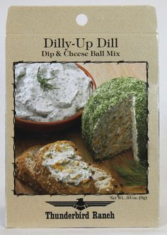 Dilly-Up Dill Cheese Ball & Dip Mix – Thunderbird Ranch Gourmet Foods