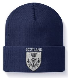 259ec354d96 Men's Beanie Hats | eBay. Scotland Beanie Hat TryBull Sports Scots Jocks  Supporters Rugby ...