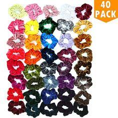 18 Pcs Women Girls Elastic Hair Band Ties Rope Ring Hairband Holder gift for kid