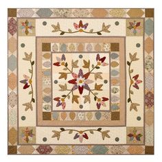 Pips and Passionflowers Quilt Pattern - $11.37