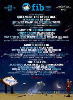Excited about this year's FIB! Can't wait for the 18th July!