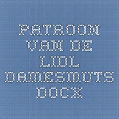 Patroon van de lidl damesmuts.docx