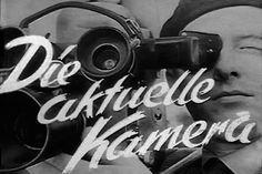 """Das erste Logo der Nachrichtensendung """"Die Aktuelle Kamera"""" im Fernsehen der DDR (© picture-alliance/dpa)"""