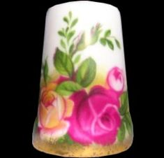 Royal Albert China - Special Collections - Thimbles Old Country Rose