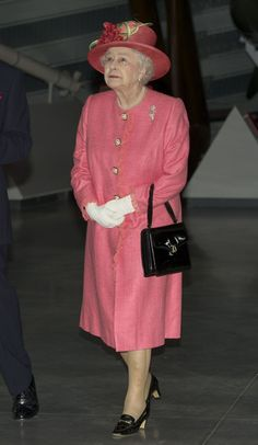In This Photo: Queen Elizabeth II Queen Elizabeth II is seen during a visit to the Royal Airforce Museum Cosford on July 12, 2012 in Shropshire, England. Queen Elizabeth II and Prince Philip, Duke of Edinburgh are visiting the West Midlands as part of the 2012 Diamond Jubilee celebrations.