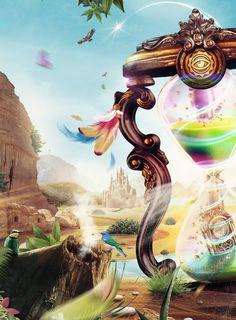 Daydream festival 2014 by Robbin Snijders, via Behance