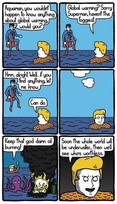 Aqua man is so funny