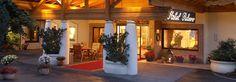 Hoteleingang der Thermenwelt Hotel Pulverer 5* in Bad Kleinkirchheim - Kärnten - Österreich http://www.pulverer.at
