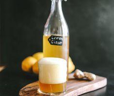 Lemon Ginger Kombucha