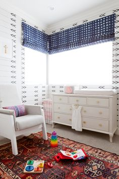 Photography by Amy Bartlam Eclectic Nursery & Kids Bedroom Design Nursery Inspiration Boy, Blue Rooms, Room Design, Interior Design, Kid Room Decor, Interior, Global Decor, Bohemian Home, Home Decor