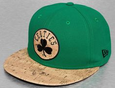 Boston Celtics Cork 59Fifty Fitted Baseball Cap by NEW ERA x NBA