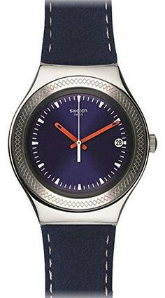 Watch Swatch Irony Big Classic YGS467 BLUE BIENNE