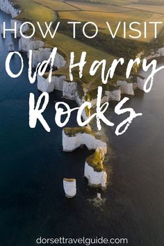 Everything you need to know about visiting Old Harry Rocks - a set of chalk stacks off the Isle of Purbeck in Dorset, England. How to get there, what to see, and more! #uktravel #england #dorset Harry Rocks, Jurassic Coast, Dorset England, Need To Know, Travel Inspiration, Everything, Blog, Blogging
