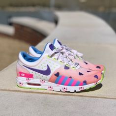 hot sale online 1425b b0b92 Nike Shoes   Nike Doernbecher Air Max Zero  Rare    Color  Pink White    Size  8