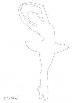Creative Ideas - DIY Beautiful Snowflake Ballerinas from Templates 2