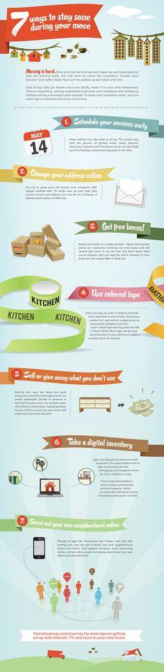 7 tips voor een gemakkelijke verhuis
