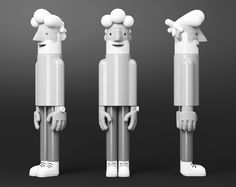character I designed for a pitch… modelled by Michael Greenwood