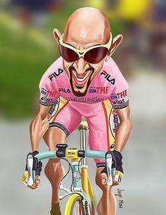 Marco Pantani by bilobicles bag