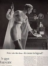 1954 VINTAGE PRINT AD - WARNER'S Le Gant Bras, Girdles, Corselettes - sexy lady
