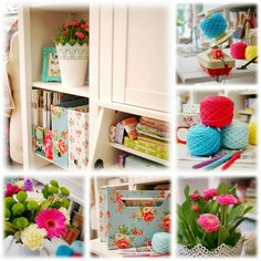 Craft Room Inspiration - Mary Jane's Tea Room