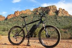 Full review of the new IZIP E3 Peak mid drive electric mountain bike! [VIDEO] http://electricbikereport.com/izip-e3-peak-electric-bike-review-video/