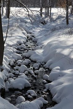 Reminds me of a dream I once had....  Martha's Marshmallow Brook