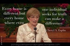 Cheryl A. Esplin April 2015 #ldsconf