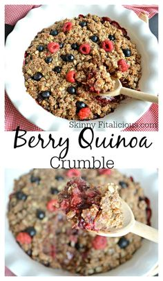 Healthy Berry Quinoa Crumble. _ Please Like Before you RePin _ Sponsored by International Travel Reviews - Worldwide Travel Writers & Photographers Group. Focus on Writing Reviews & Taking Photographs for Travel, Tourism, & Historical Sites clients. Rick Stoneking Sr. Owner/Founder. Tweet us @ IntlReviews Info@InternationalTravelReviews.com