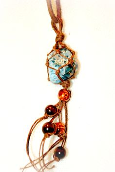 Check out this item in my Etsy shop https://www.etsy.com/listing/232084724/apatite-macrame-necklace