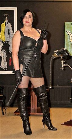 Join. mature dominatrix leather boots from it