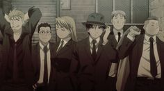 Team Mustang Baccano! Style. Mixing my favorite show (FMA Brotherhood) with my third favorite show (Baccano!).